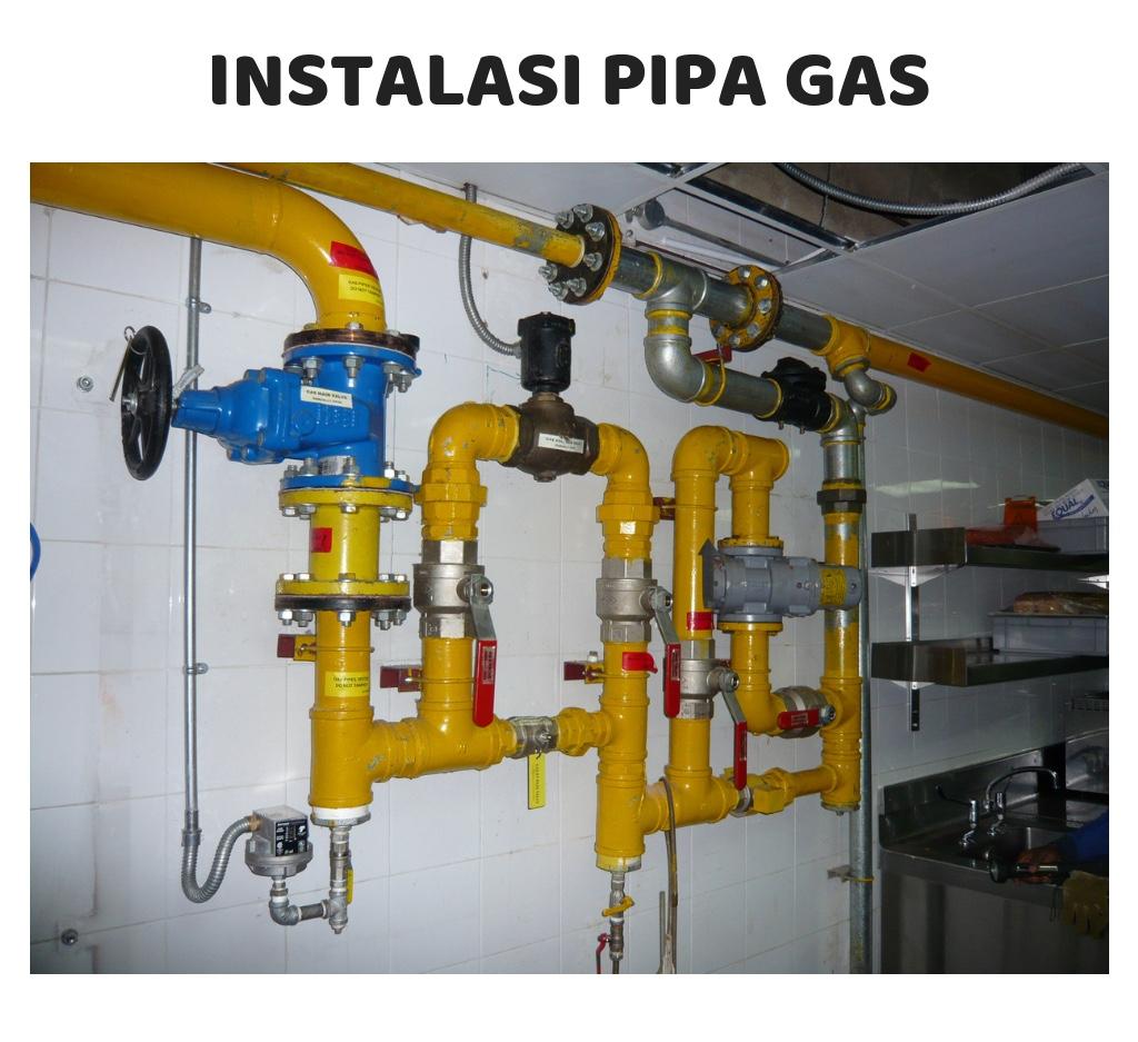 Instalasi Pipa Gas Elpiji